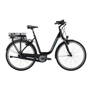 Victoria etrekking 5.7 h deep black/blue 2020 Elektrische fiets dames