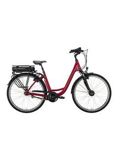 Victoria eclassic 3.1 cranberry red/silver 2020 Elektrische fiets dames