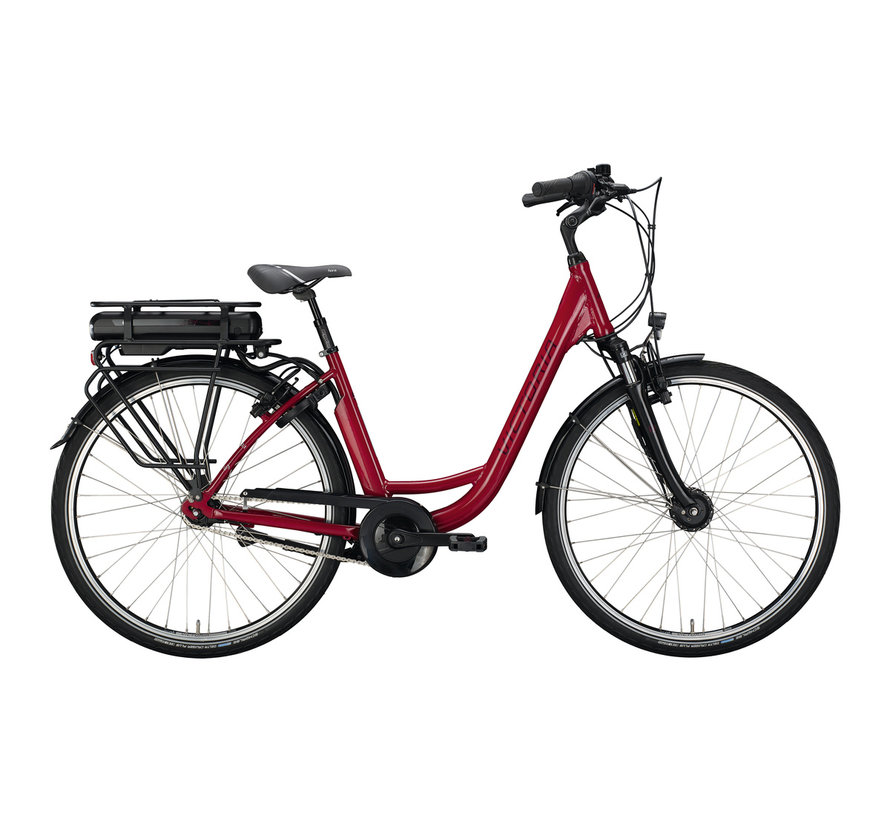 eclassic 3.1 cranberry red/silver 2020 Elektrische fiets dames