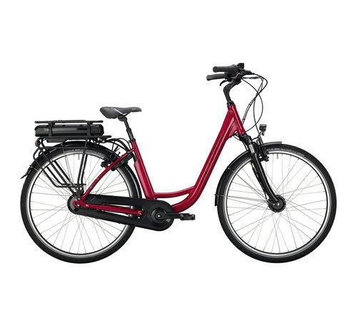 Victoria eclassic 3.1 h cranberry red/silver 2020 Elektrische fiets dames