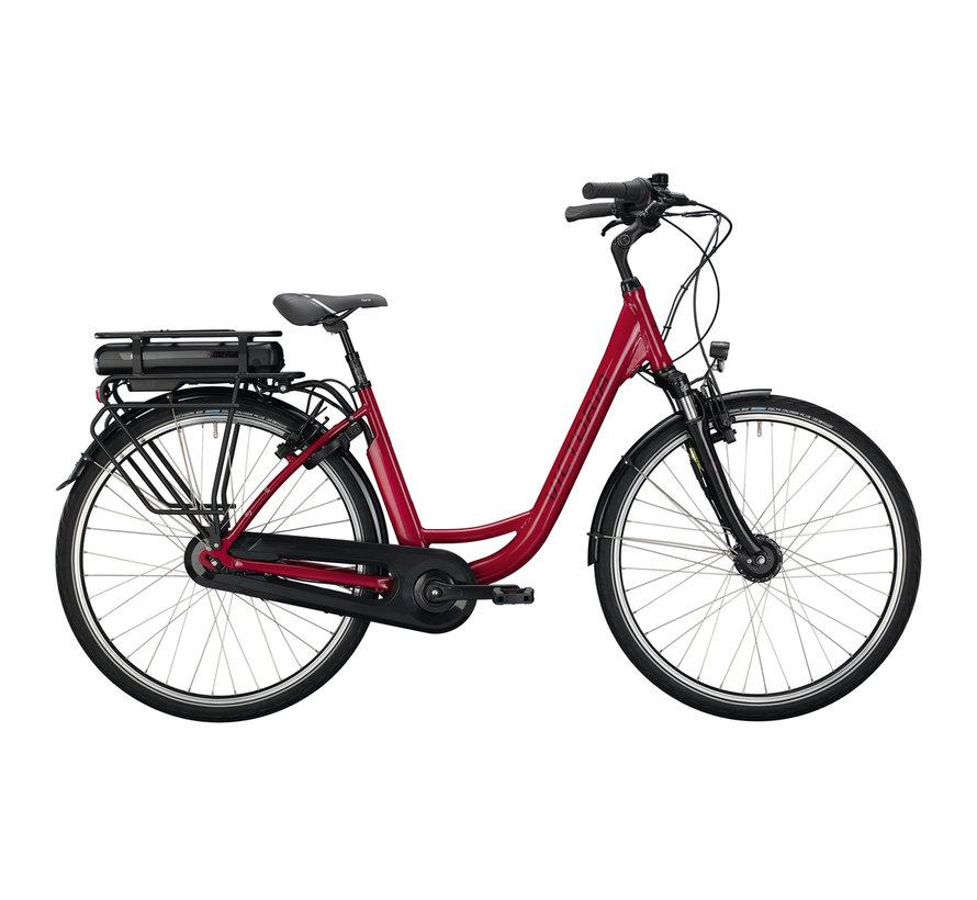 eclassic 3.1 h cranberry red/silver 2020 Elektrische fiets dames