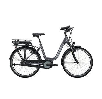 Victoria etrekking 5.5 h stone grey/black Elektrische fiets dames