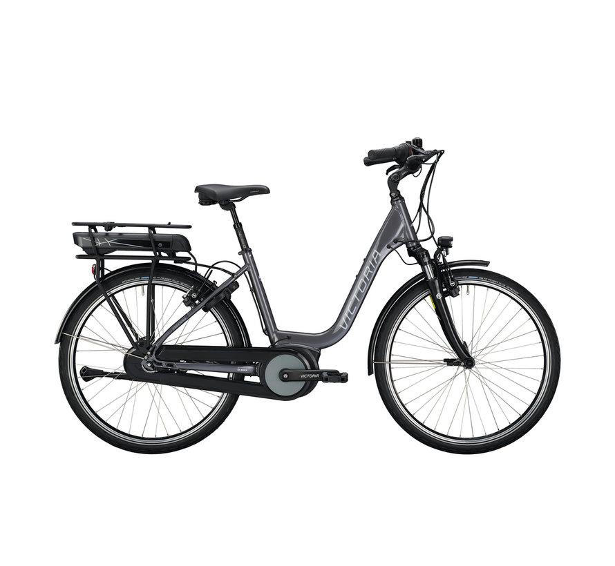etrekking 5.5 h stone grey/black Elektrische fiets dames