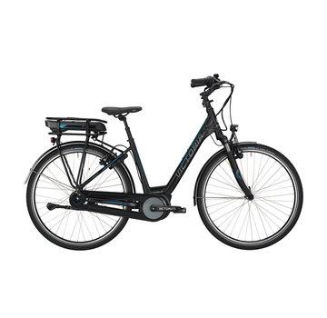 Victoria etrekking 7.4 h black matt/blue glossy 2019 Elektrische fiets dames