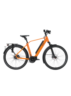 Qwic e-bike performance ma11speed diamond orange Elektrische fiets heren