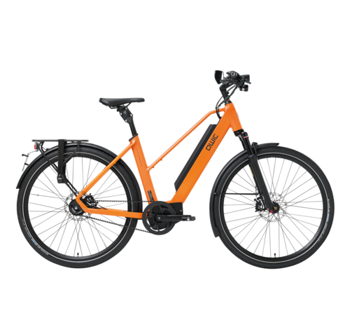 Qwic e-bike performance ma11 speed trapez orange Elektrische fiets dames