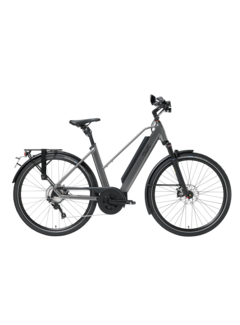 Qwic e-bike performance md11 speed trapez antracite Elektrische fiets dames