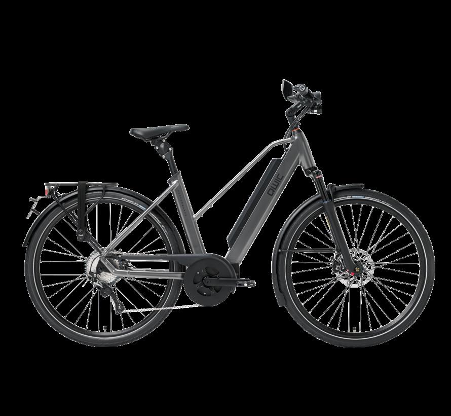 e-bike performance md11 speed trapez antracite Elektrische fiets dames