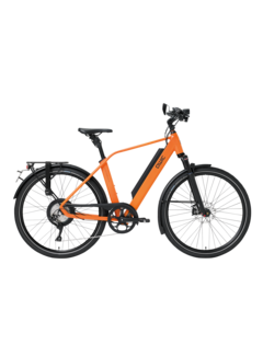 Qwic e-bike performance rd11 speed diamond dutch orange Elektrische fiets heren
