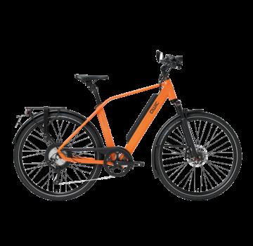 Qwic e-bike performance rd11 speed diamond dutch orange Elektrische fiets heren