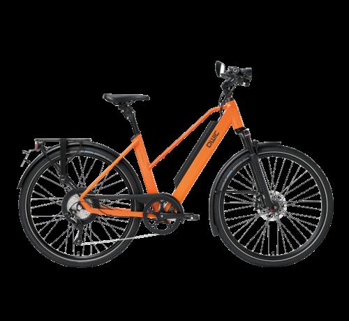 Qwic e-bike performance rd11 speed trapez dutch orange Elektrische fiets dames