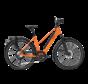 e-bike performance rd11 speed trapez dutch orange Elektrische fiets dames