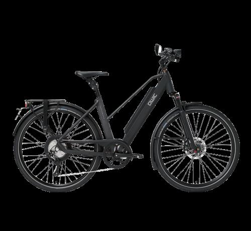 Qwic e-bike performance rd11 speed trapez matt black Elektrische fiets dames