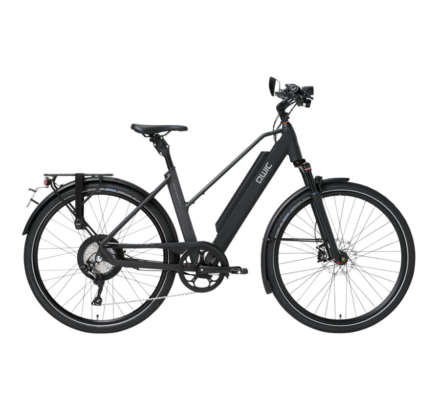 e-bike performance rd11 speed trapez matt black Elektrische fiets dames