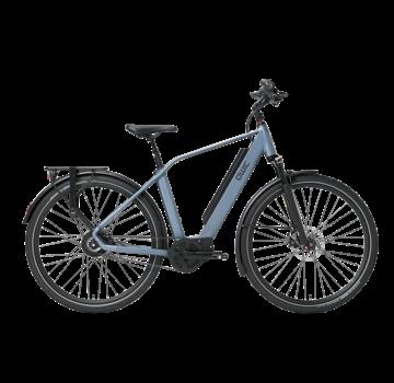 Qwic e-bike performance mn380 diamond steel blue Elektrische fiets heren