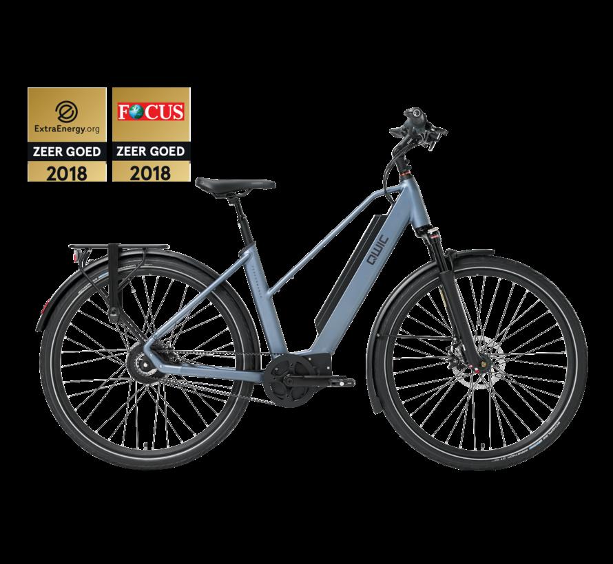 e-bike performance mn380 trapez steel blue Elektrische fiets dames