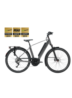 Qwic e-bike performance md11 diamond antracite Elektrische fiets heren