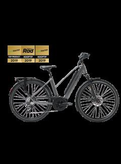 Qwic e-bike performance md11 trapez antracite Elektrische fiets dames