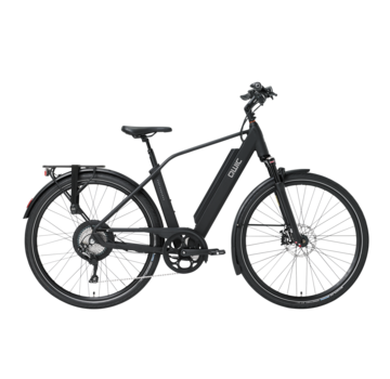 Qwic e-bike performance rd11 diamond matte black Elektrische fiets heren