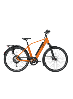 Qwic e-bike performance rd11 diamond dutch orange Elektrische fiets heren