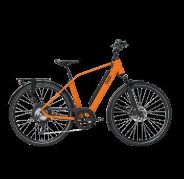 Qwic e-bike performance rd11 diamond dutch orange Elektrische fiets heren