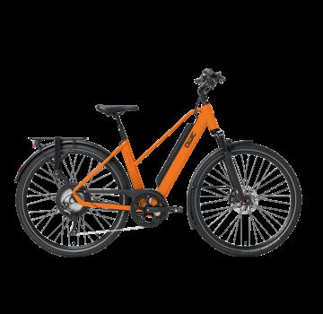 Qwic e-bike performance rd11 trapez dutch orange Elektrische fiets dames
