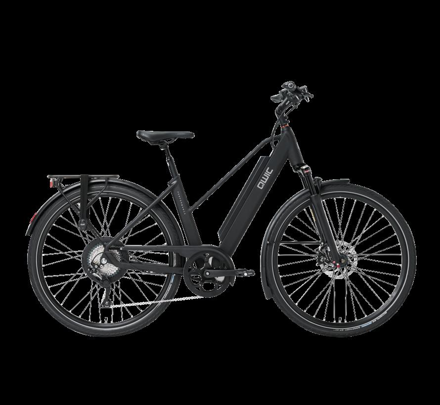 e-bike performance rd11 trapez matte black Elektrische fiets dames