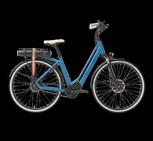 Qwic e-bike premium ma8 tour ocean blue Elektrische fiets dames