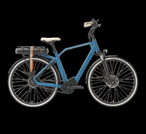Qwic e-bike premium ma8 tour ocean blue Elektrische fiets heren