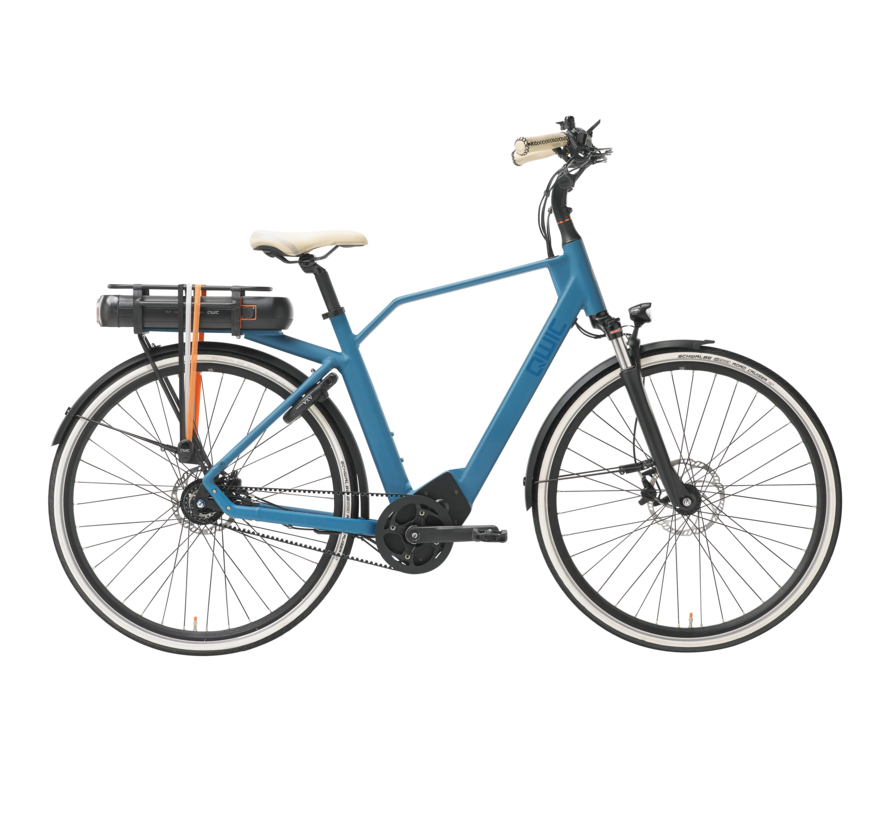 e-bike premium ma8 tour ocean blue Elektrische fiets heren