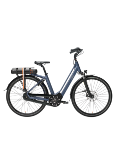 Qwic e-bike premium mn8 tour midnight blue Elektrische fiets dames