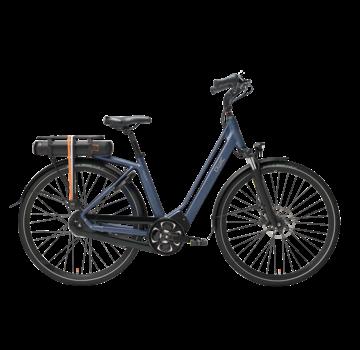Qwic e-bike premium mn8 tour midnight blue Elektrische fiets dames