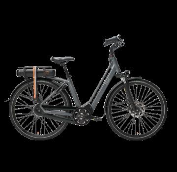Qwic e-bike premium mn8 tour antracite Elektrische fiets dames