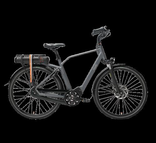 Qwic e-bike premium mn8 tour antracite Elektrische fiets heren