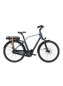 Qwic e-bike premium mn8 tour midnight blue Elektrische fiets heren