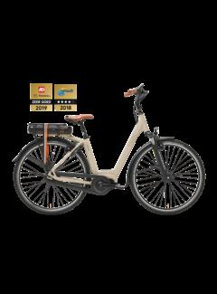 Qwic e-bike premium mn7 maple sand Elektrische fiets dames