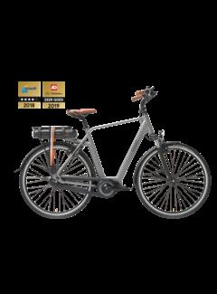 Qwic e-bike premium mn7c space grey Elektrische fiets heren