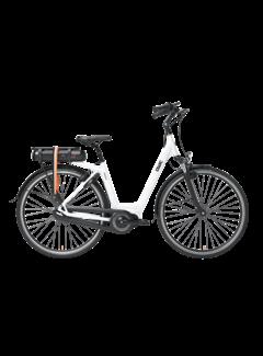 Qwic e-bike premium mn7vv chalk white Elektrische fiets dames