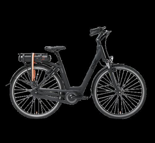 Qwic e-bike premium mn7vv matte black Elektrische fiets dames