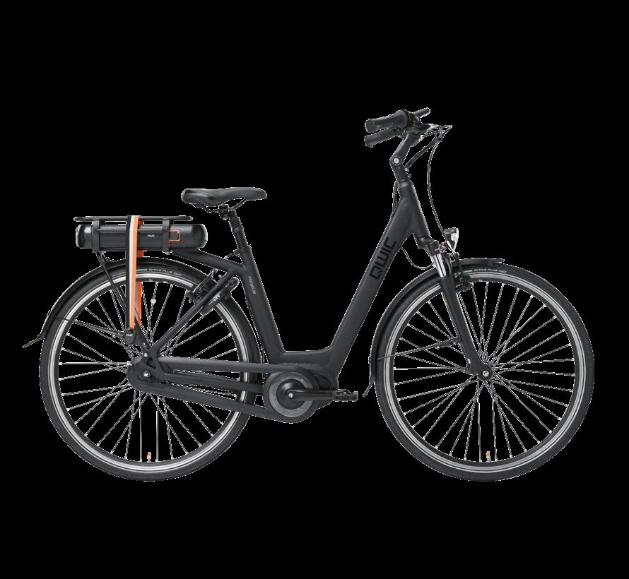 e-bike premium mn7vv matte black Elektrische fiets dames