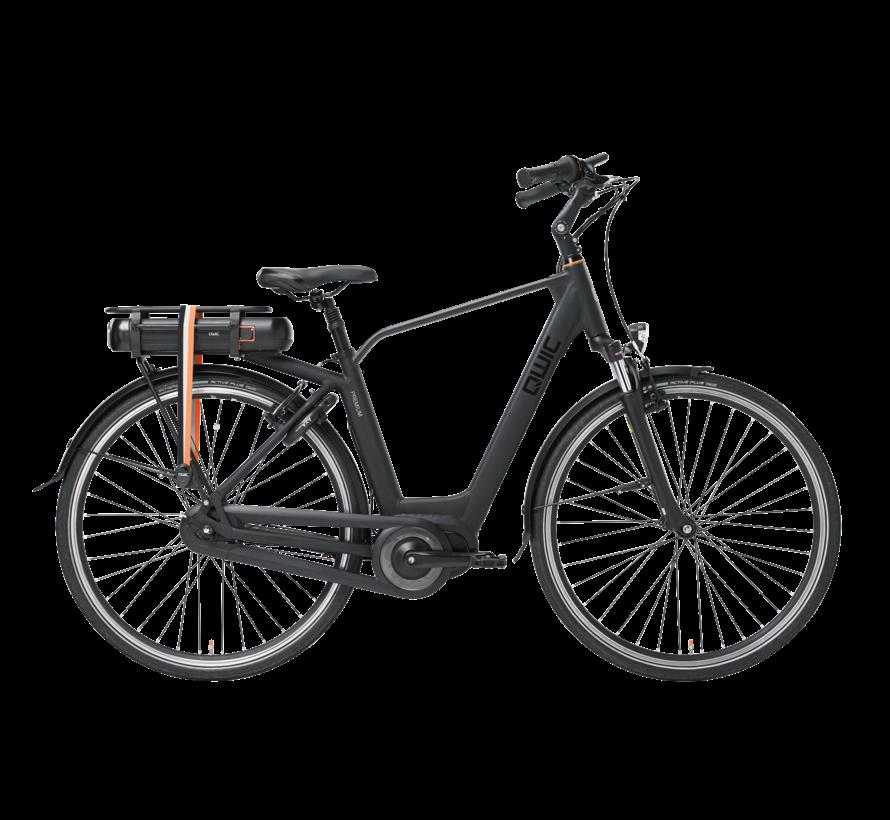e-bike premium mn7vv matte black Elektrische fiets heren