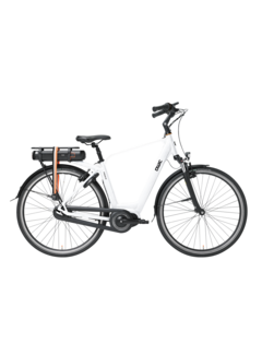 Qwic e-bike premium mn7vv chalk white Elektrische fiets heren