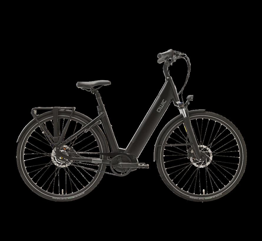 e-bike premium i mn7+belt charcoal black Elektrische fiets dames