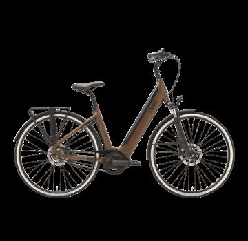 Qwic e-bike premium i mn7+belt walnut brown Elektrische fiets heren