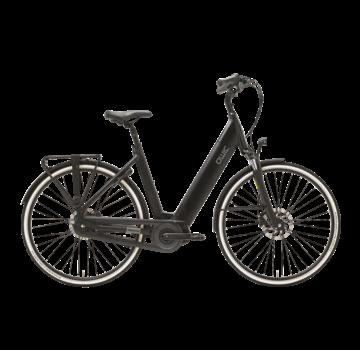 Qwic e-bike premium i mn7+ charcoal black Elektrische fiets dames
