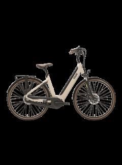 Qwic e-bike premium i mn7+ maple sand Elektrische fiets dames