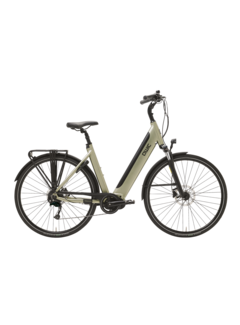 Qwic e-bike premium i md9 timber green Elektrische fiets dames