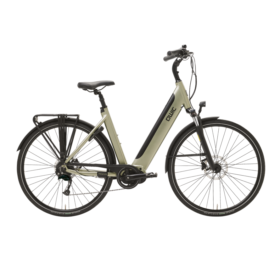 e-bike premium i md9 timber green Elektrische fiets dames