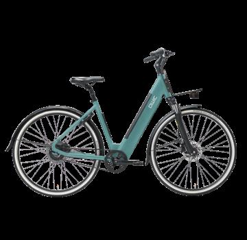 Qwic e-bike urban r1 turquoise Elektrische fiets dames