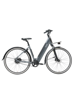 Qwic e-bike urban r1 stone grey Elektrische fiets dames